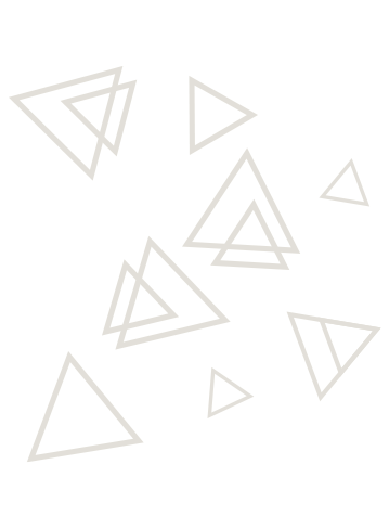 Triangle shapes that decorate the pages.